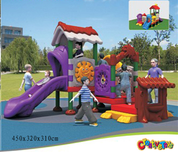 Children playground slide toy