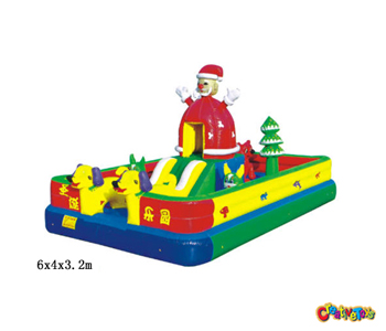 Christmas inflatables bouncers