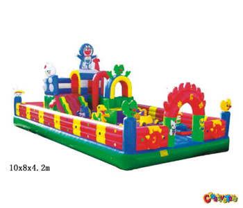 Inflatable soft playground