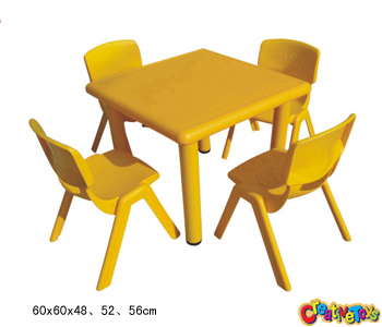 kindergarten square table