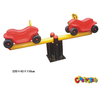 Outdoor seesaw