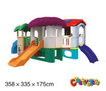 Preschool play equipment playhouse