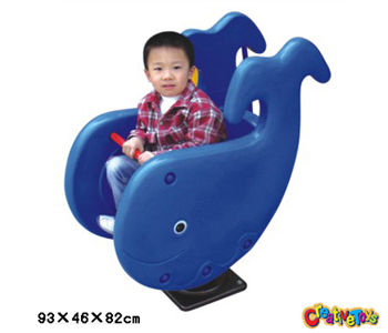 Whale spring rider
